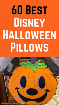 Want to add some Halloween pillows to your Halloween decor this year? Why not make them Disney themed? Whether you're getting excited for an upcoming trip to Walt Disney World or Disneyland, or you just like to show off your Disney love, it's a great idea. Check out these 60 best Disney Halloween pillows. Themed to favorites like Cruella Deville, Descendants, Nightmare Before Christmas, Haunted Mansion, Star Wars, Tangled, Little Mermaid & more. Disney themed decorative pillows for the holidays. Walt Disney World Vacations, Disney Resorts, Dream Vacations, Disney World With Toddlers, Cruella Deville, Halloween Pillows, Disney World Planning, Disney World Tips And Tricks, Haunted Mansion
