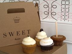 Fall cupcakes from Boston bakery Sweet