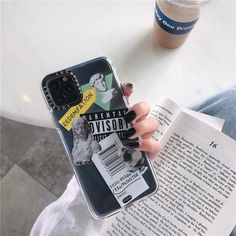 Luxury Art Letter Label iPhone Case - For iphone12mini / 1