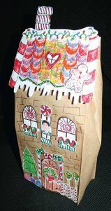 crafts, gingerbread house clip art, gingerbread house parts, clip art ...