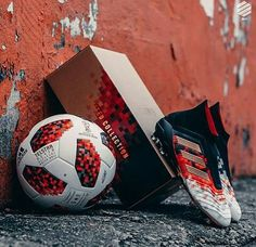 New limited edition adidas Predator Telstar & Telstar 18 Mechta the official match ball for the FIFA Word Cup Russia 2018 knockout stage Adidas Soccer Boots, Nike Football Boots, Adidas Cleats, Adidas Football, Football Cleats, Predator Football Boots, Best Soccer Shoes, Football Accessories, Soccer Skills