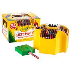Have to have it. Crayola 152 Piece Ultimate Crayon Collection - $17.01 @hayneedle