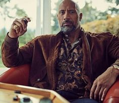 """Dwayne Johnson""""photographed by Carter Smith for InStyle January 2018 """" The Rock Dwayne Johnson, Rock Johnson, Dwayne The Rock, Rebel, Carter Smith, Hunks Men, Sexy Beard, Instyle Magazine, Dapper Men"""