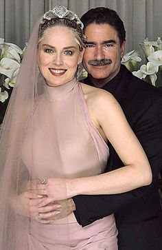 Sharon Stone Pink Wedding Dress.Celebrate your wedding with jewels from Renaissance Fine Jewelry in Vermont or www.vermontjewel.com