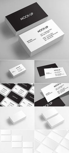 Realistic Business Card Mockups | Design