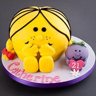Mr Men Little Miss Princess Cake Groceries Tesco Groceries - Little miss birthday cake