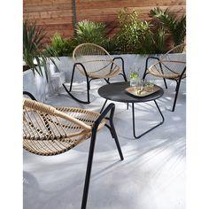 1000 ideas about fauteuil de jardin on pinterest for Salon rotin castorama