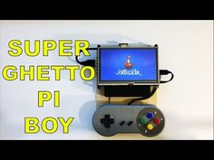 The Super Ghetto Raspberry Pi Boy Portable Raspberry Pi 1 2 3 - YouTube