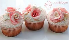 Sugarbloom Cupcakes - Perth WA: Rosey Posey Wedding Cakes