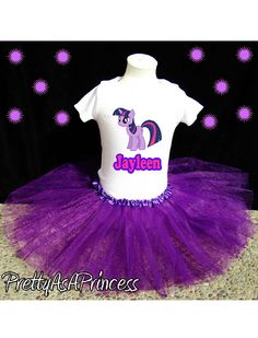 My Little Pony Twilight Birthday Tutu Outfit by Designs4You2, $19.99  OMG JAY WOULD LOVE THIS FOR HER BIRTHDAY OUTFIT THIS YEAR.