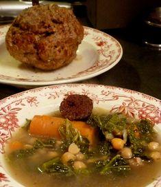 Olla Aranesa or traditionnal soup of the Pyrénées