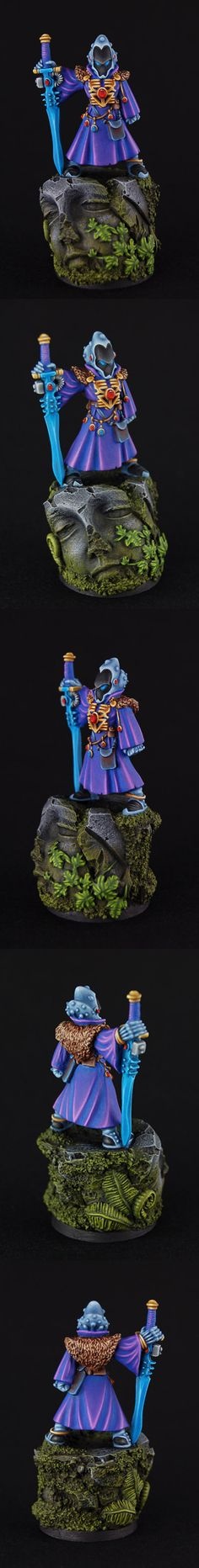 Warlock - great highlighting and color blending