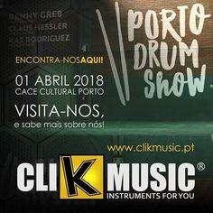É já este domingo que o ClikMusic vai estar presente no grande evento Porto Drum Show 2018!