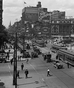 detroit 1910. Once a vibrant, great city until the Democrats/liberals ran it into the ground with their demands and entitlements. How do you like it now?