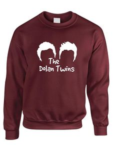f470c14d77263 Adult Sweatshirt The Dolan Twins Trendy Cute Cool Top  dolan  twins   brothers  . ALLNTRENDSHOP