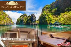 3-days/2-nights Stay at Islands View Inn with Transfers and Coron Island Tour starting at P2750 instead of P5500