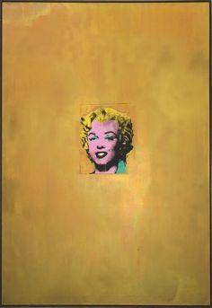 (All that glitters is Marilyn Monroe) Gold Marilyn Monroe  [Andy Warhol]