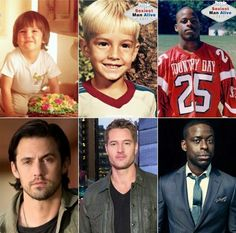 This is Us Milo Ventimiglia Justin Hartley & Sterling K Brown