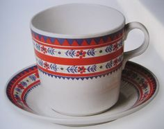 Arabia Kitchenware, Tableware, Fika, China Patterns, Marimekko, Bone China, Finland, Scandinavian, Stuff To Do