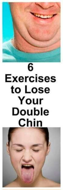 6 Exercises to get rid of Double Chin – L/H