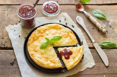 Cheese and basil breakfast #pizza #cheese #breakfast #healthy #kitchen
