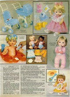 1980 Sears Dolls