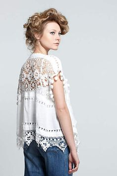 Gorgeous Lace top at Anthropologie