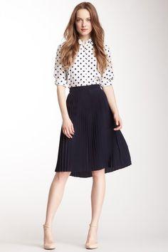Paper Crown Crete Silk Skirt by Designer Favorites on @HauteLook