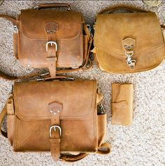 Saddleback Leather Book Bag in Tobacco. YouTube Review: https ...