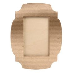 Looking for unique photo frames that are both pretty and customizable? Shop for corrugated cardboard picture frames (and more!) at ConsumerCrafts today. Diy Photo Frame Cardboard, Cardboard Frames, Photo Frame Crafts, Cardboard Art, Diy Necklace Stand, Best Friend Birthday Surprise, Unique Photo Frames, Clock Painting, Photo Booth Frame