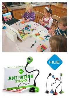 HUE Animation Studio for Windows PCs and Apple Mac OS X is an educational and fun gift for kids of all ages!