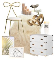 """""""Golden glam"""" by yoxberry24 on Polyvore featuring interior, interiors, interior design, hogar, home decor, interior decorating, Times Two Design, Nordstrom, Wynwood y Interlude"""