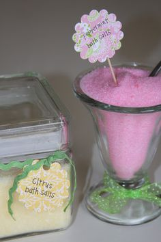 Life Frosting: bath salts...in 2 seconds!