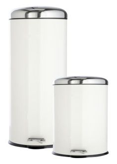 30 Litre Cream Stainless Steel Bin With 7 Litre Bonus Bin #MatalanMostWanted @Matalan