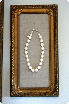 linen and pearls. how could i go wrong?