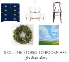 For everyone from art lovers to estate sale enthusiasts, here's five online stores to bookmark ASAP @bhg