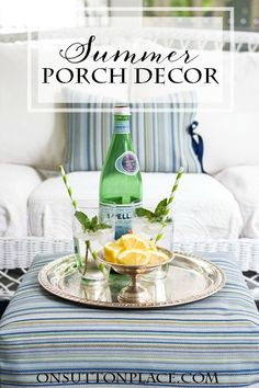 5 Summer Porch Decor