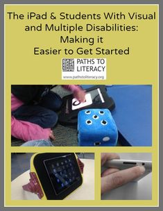 Practical tips and strategies to get started using an iPad with students who are blind or visually impaired with additional disabilities