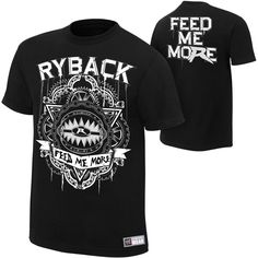 "Ryback ""Feed Me More"" Men's Authentic T-Shirt - WWE"