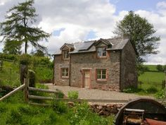 Buckshead Eco-Cottage, Shropshire. The cottage is not connected to the national grid so a number of eco friendly design features were essential to provide the energy http://www.organicholidays.co.uk/at/1989.htm