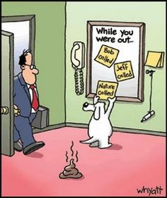 hahaha! clean-up time!