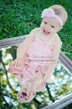 www.facebook.com/meredithleighphotography Baby Girl Photography, first birthday