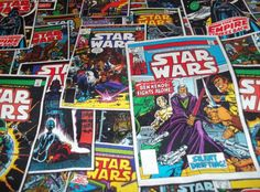 Star Wars Comic Book Fabric