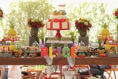 festa frutaria quitandinha decoração