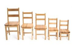 """13"""" Solid Maple Chair"""