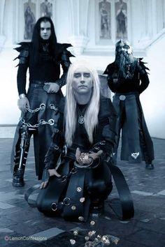 Thranduil, Legolas, and Gimli as Goths