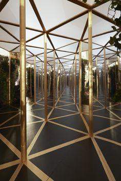 David Beckham Mirror Maze - for Bompas & Parr - SeTwo