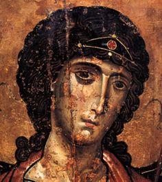 Archangel Michael, century A. Religious Images, Religious Icons, Religious Art, Byzantine Art, Byzantine Icons, Religious Paintings, Best Icons, Angels Among Us, Archangel Michael