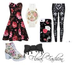 """""""Floral Fashion"""" by marshmallowkuini ❤ liked on Polyvore featuring Beston and Aéropostale"""