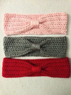 Turban Inspired Knotted Crocheted Headband